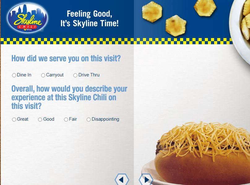 Skyline Chili Survey