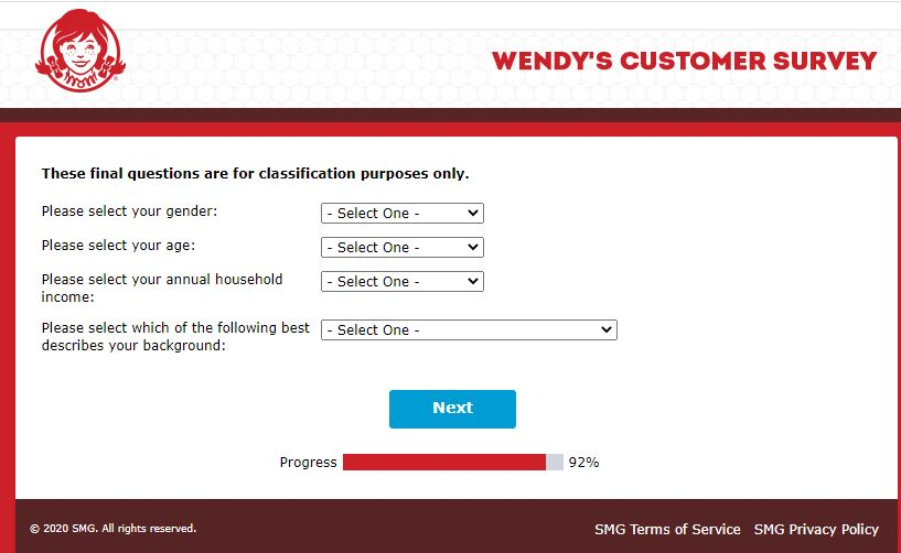 wendys wants to know