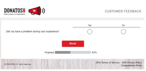 Donatos Survey