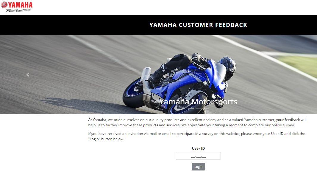 Yamaha survey